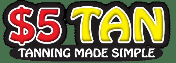 $5 Tan Logo